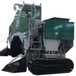 Large Scale Compost Turner Machine